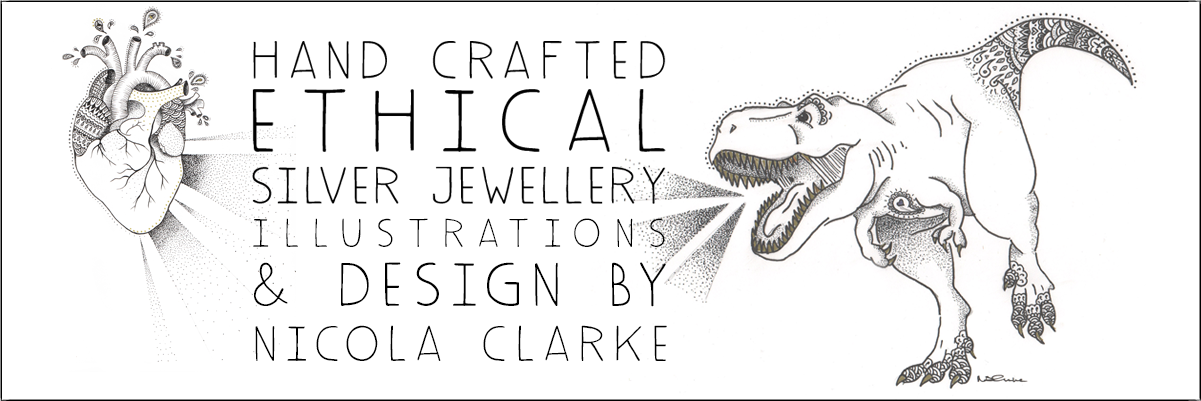 Nicola Clarke - Hand Crafted Ethical Silver Jewellery, Ceramics & Sketches