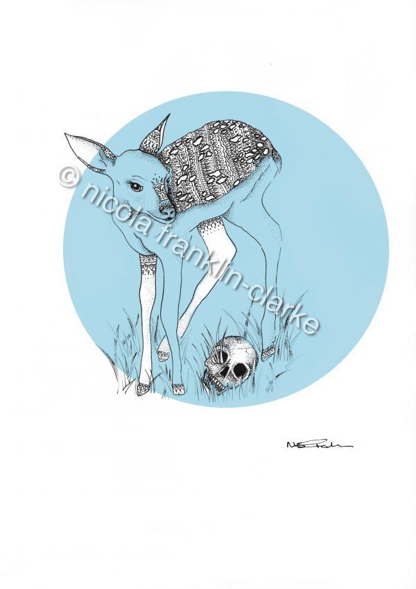 deer & skull